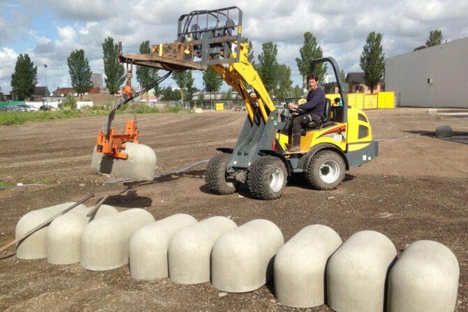 Aanleg fabrieksterrein betonblokken_Haarlem