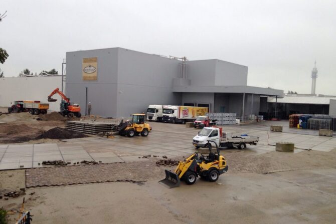 Aanleg fabrieksterrein buitenterrein_Haarlem