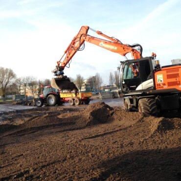 Aanleg fabrieksterrein grondwerkzaamheden_Haarlem