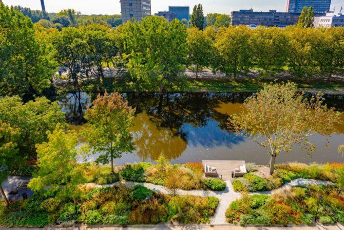 Ontwerp en aanleg park Delft