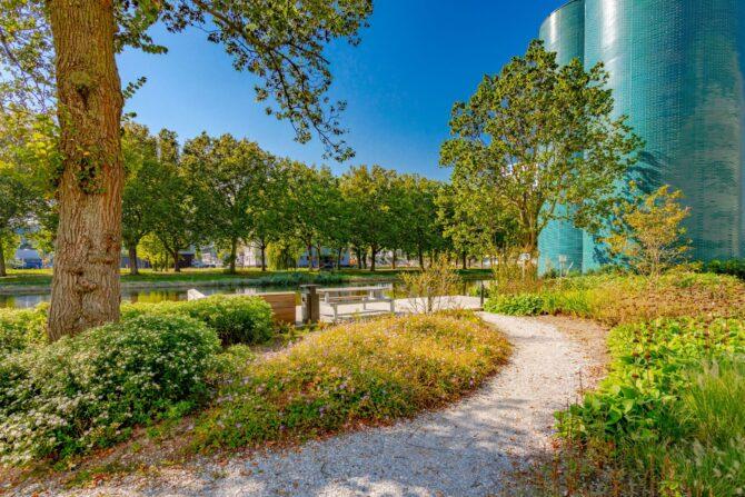 Ontwerp en aanleg park Delft inrichting buitenruimte